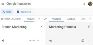 French Marketing World Demand